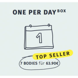 One per day Box 7 Bodies