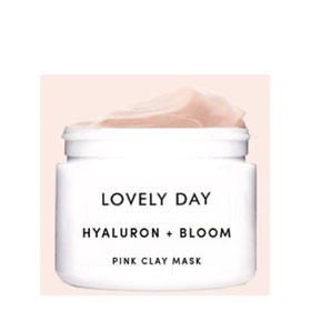 Gesichtsmaske Hyaluron + Bloom Pink Clay