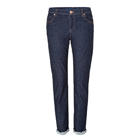 Womens tapered jeans – raw one wash