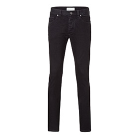 Mens slim jeans – black one wash
