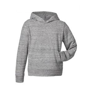 Hoodie Shirt Kinder Slub Heather Grey