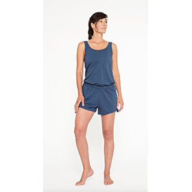 Yoga Jumpsuit Short – INDIGO BLUE