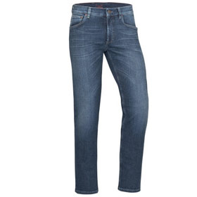 Finn 5 Pocket Jeans aus Bio-Baumwolle fashion blue