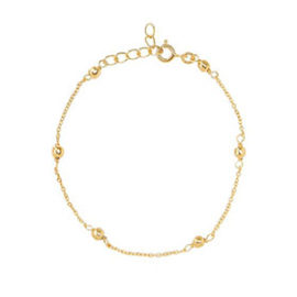 Tiny Ball Bracelet Gold