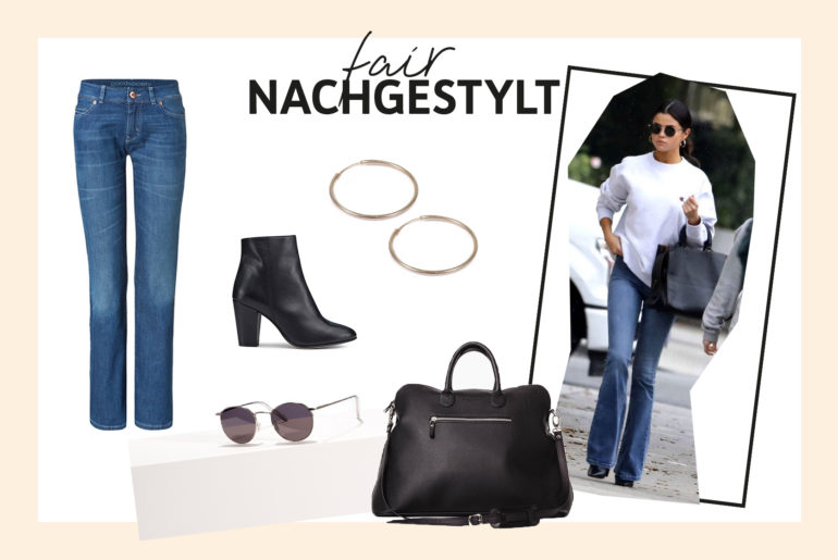 GET THE LOOK: Selena Gomez im stylischen Basic-Look