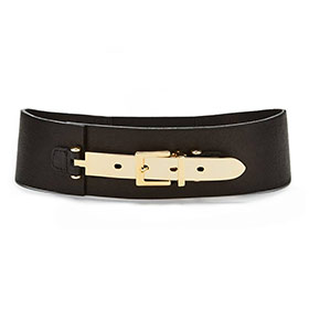 Hourglass Belt themse black