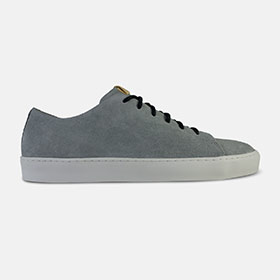 Oak Low Grey Suede
