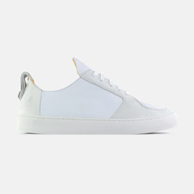 Argan Low Max Herre White Leather