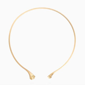 Transitions Collier Hex Fairtrade Gold