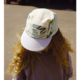Calvin mint brush 5-Panel cap